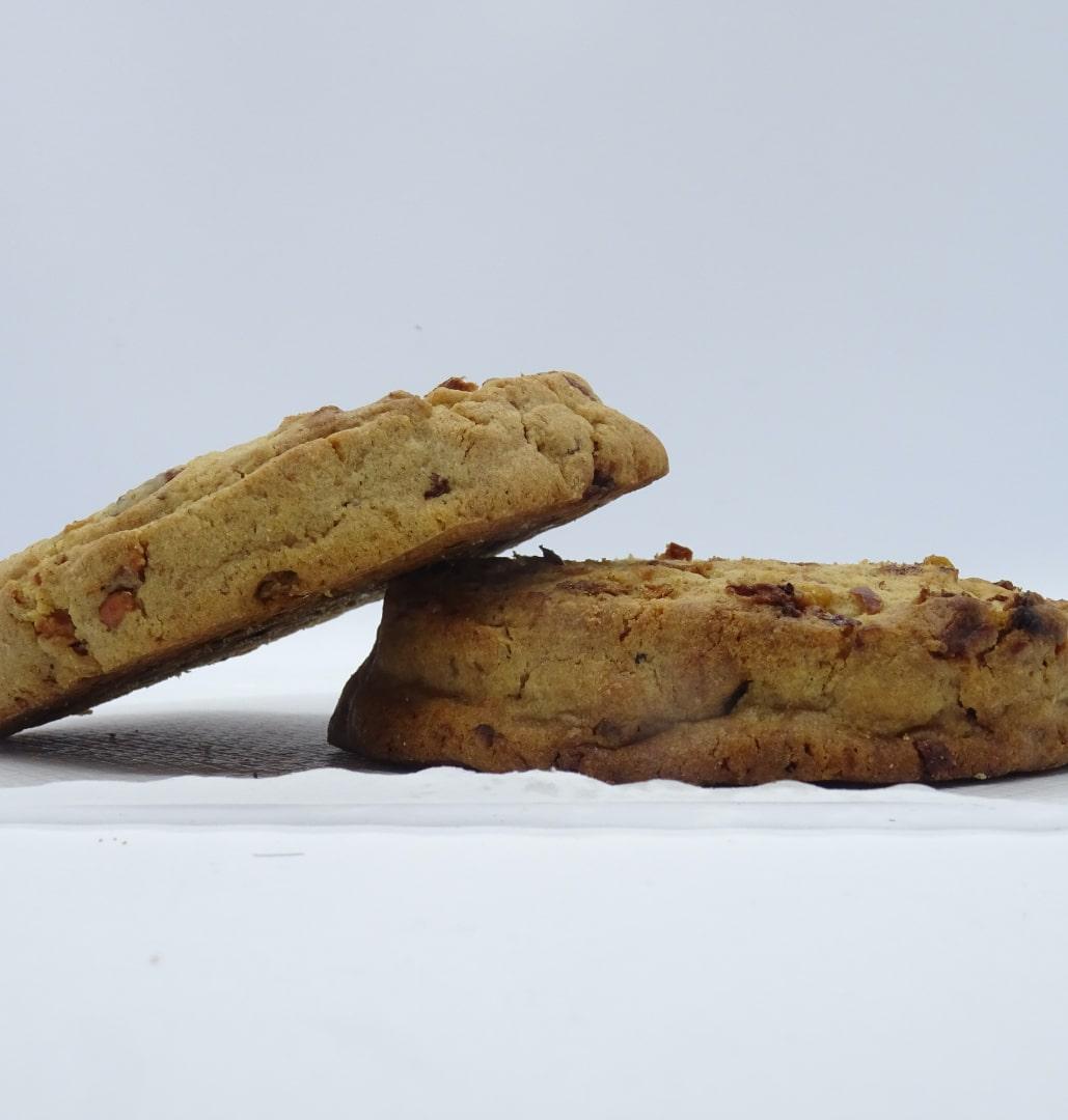 Die Bio-CookieBoX : Apfel - Hanf - Schoko 6x100g